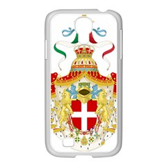 Coat Of Arms Of The Kingdom Of Italy Samsung Galaxy S4 I9500/ I9505 Case (white) by abbeyz71
