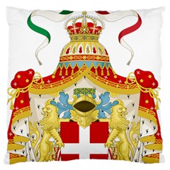 Coat Of Arms Of The Kingdom Of Italy Standard Flano Cushion Case (one Side) by abbeyz71
