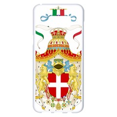 Coat Of Arms Of The Kingdom Of Italy Samsung Galaxy S8 Plus White Seamless Case by abbeyz71