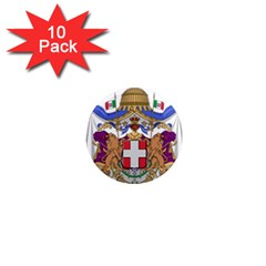 Greater Coat of Arms of Italy, 1870-1890  1  Mini Magnet (10 pack)  by abbeyz71