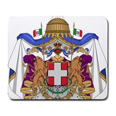 Greater Coat Of Arms Of Italy, 1870 1890  Large Mousepads by abbeyz71