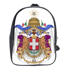 Greater Coat Of Arms Of Italy, 1870 1890  School Bags(large)  by abbeyz71