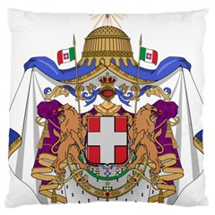 Greater Coat Of Arms Of Italy, 1870 1890  Large Cushion Case (two Sides) by abbeyz71