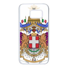 Greater Coat Of Arms Of Italy, 1870 1890  Samsung Galaxy S7 White Seamless Case by abbeyz71