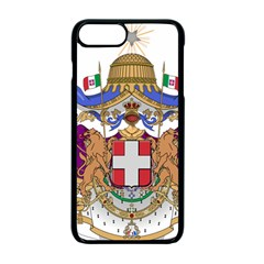 Greater Coat Of Arms Of Italy, 1870 1890  Apple Iphone 7 Plus Seamless Case (black) by abbeyz71