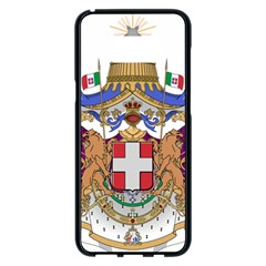 Greater Coat Of Arms Of Italy, 1870 1890  Samsung Galaxy S8 Plus Black Seamless Case