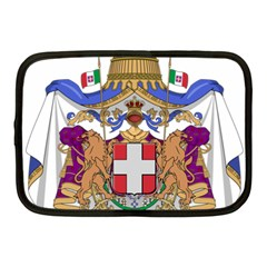 Greater Coat Of Arms Of Italy, 1870 1890 Netbook Case (medium)  by abbeyz71