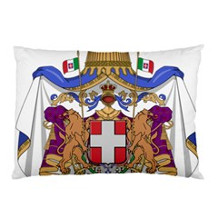 Greater Coat Of Arms Of Italy, 1870 1890 Pillow Case by abbeyz71