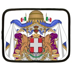 Greater Coat Of Arms Of Italy, 1870 1890 Netbook Case (xl)  by abbeyz71