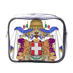 Greater Coat Of Arms Of Italy, 1870 1890 Mini Toiletries Bags by abbeyz71