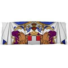 Greater Coat Of Arms Of Italy, 1870 1890 Body Pillow Case (dakimakura) by abbeyz71