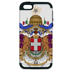 Greater Coat Of Arms Of Italy, 1870 1890 Apple Iphone 5 Hardshell Case (pc+silicone) by abbeyz71