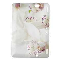 Orchids Flowers White Background Kindle Fire Hdx 8 9  Hardshell Case by Nexatart