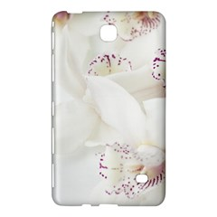 Orchids Flowers White Background Samsung Galaxy Tab 4 (8 ) Hardshell Case  by Nexatart