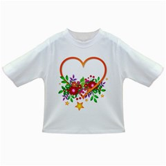 Heart Flowers Sign Infant/toddler T Shirts