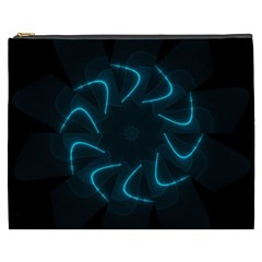 Background Abstract Decorative Cosmetic Bag (xxxl)