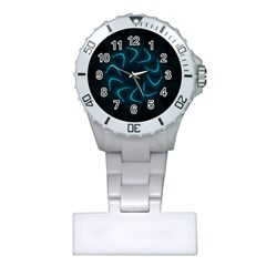 Background Abstract Decorative Plastic Nurses Watch