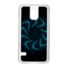 Background Abstract Decorative Samsung Galaxy S5 Case (white)