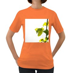 Leaves Nature Women s Dark T Shirt