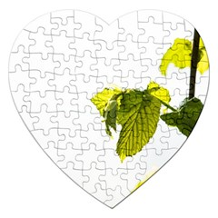 Leaves Nature Jigsaw Puzzle (heart)