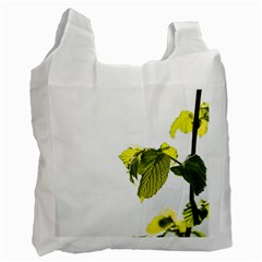 Leaves Nature Recycle Bag (one Side)