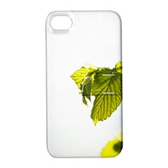 Leaves Nature Apple Iphone 4/4s Hardshell Case With Stand