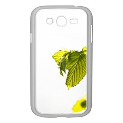 Leaves Nature Samsung Galaxy Grand Duos I9082 Case (white)