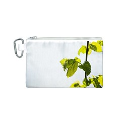 Leaves Nature Canvas Cosmetic Bag (s) by Nexatart