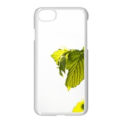 Leaves Nature Apple Iphone 7 Seamless Case (white) by Nexatart