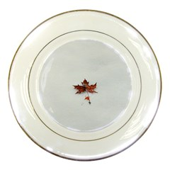 Winter Maple Minimalist Simple Porcelain Plates