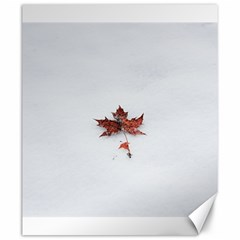 Winter Maple Minimalist Simple Canvas 20  X 24