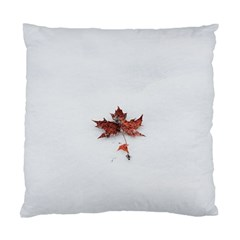 Winter Maple Minimalist Simple Standard Cushion Case (one Side) by Nexatart