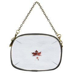 Winter Maple Minimalist Simple Chain Purses (two Sides)  by Nexatart