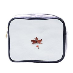 Winter Maple Minimalist Simple Mini Toiletries Bags by Nexatart