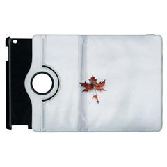 Winter Maple Minimalist Simple Apple Ipad 2 Flip 360 Case by Nexatart