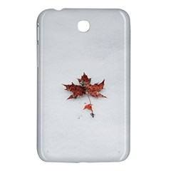 Winter Maple Minimalist Simple Samsung Galaxy Tab 3 (7 ) P3200 Hardshell Case  by Nexatart