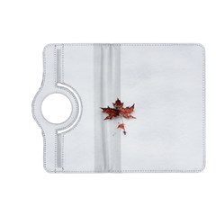 Winter Maple Minimalist Simple Kindle Fire Hd (2013) Flip 360 Case by Nexatart