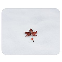 Winter Maple Minimalist Simple Double Sided Flano Blanket (medium)  by Nexatart