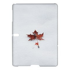 Winter Maple Minimalist Simple Samsung Galaxy Tab S (10 5 ) Hardshell Case  by Nexatart