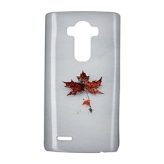 Winter Maple Minimalist Simple Lg G4 Hardshell Case by Nexatart
