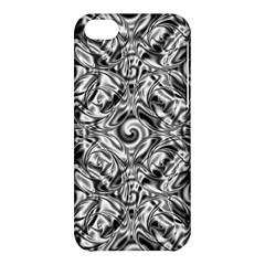 Gray Scale Pattern Tile Design Apple Iphone 5c Hardshell Case by Nexatart