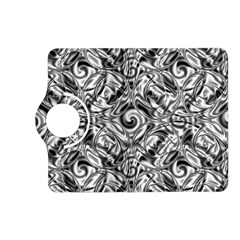 Gray Scale Pattern Tile Design Kindle Fire Hd (2013) Flip 360 Case