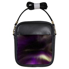 The Northern Lights Nature Girls Sling Bags by Nexatart