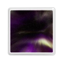 The Northern Lights Nature Memory Card Reader (square)  by Nexatart