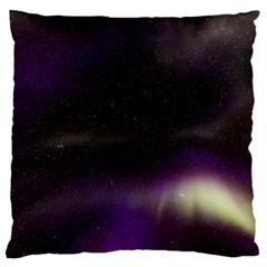 The Northern Lights Nature Large Cushion Case (two Sides) by Nexatart