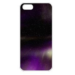 The Northern Lights Nature Apple Iphone 5 Seamless Case (white)