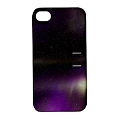 The Northern Lights Nature Apple Iphone 4/4s Hardshell Case With Stand