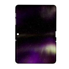 The Northern Lights Nature Samsung Galaxy Tab 2 (10 1 ) P5100 Hardshell Case  by Nexatart