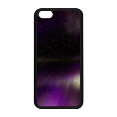 The Northern Lights Nature Apple Iphone 5c Seamless Case (black) by Nexatart