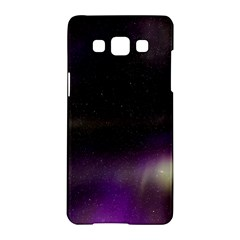 The Northern Lights Nature Samsung Galaxy A5 Hardshell Case  by Nexatart